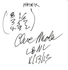 Moler's drawing